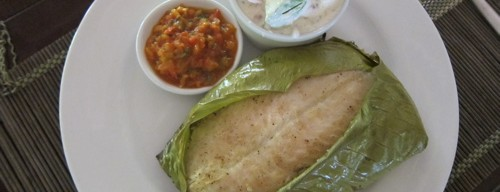 Typical Colombian Fish Dish