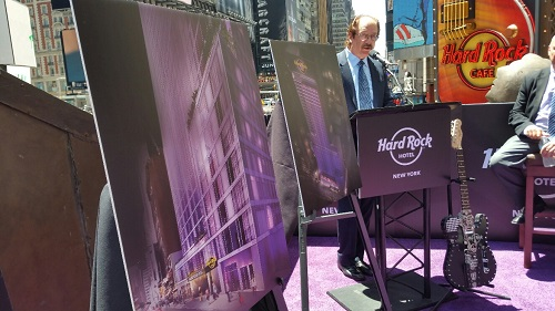 Hard Rock Opening First NYC Hotel in 2019