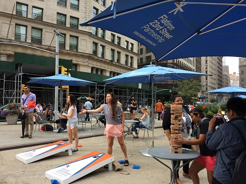 Flatiron to Host Eight Weeks of Free Activities