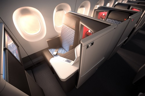 New Delta Aircraft to Have All-Suite Business Class