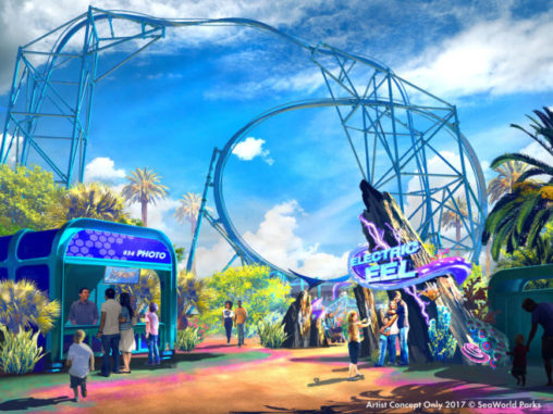 New Roller Coaster Coming to SeaWorld San Diego