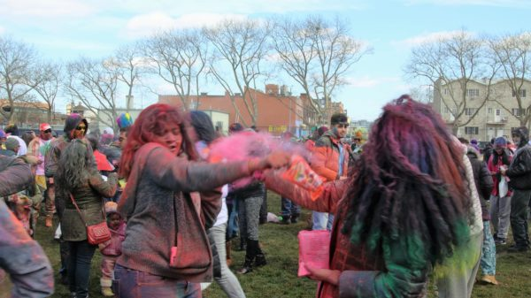 "Spring Colors Pop In Queens Hindu Festival of ""Holi"""