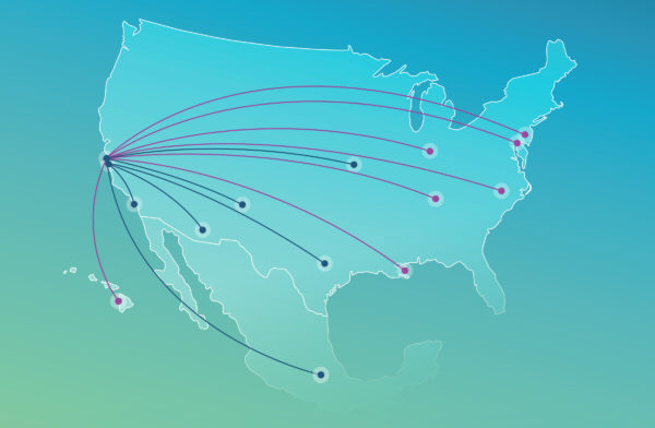 Alaska Airlines/Virgin America Boosts Routes on the West Coast