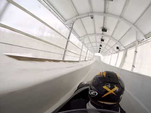 Travel With Val's Go Pro Olympic Bobsled Ride