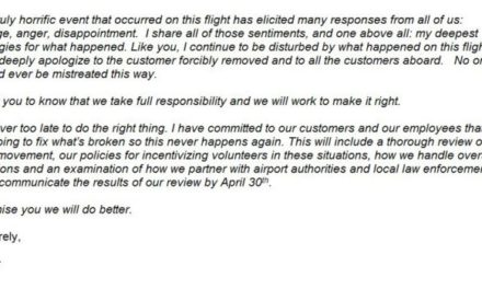 United Airlines: Sorry Not Sorry