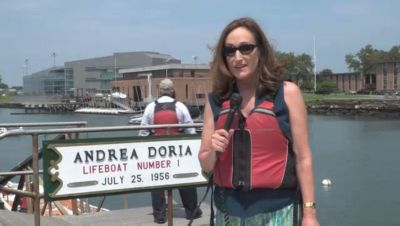 Lifeboat Used During SS Andrea Doria Sinking 60 Years Ago Sails Again