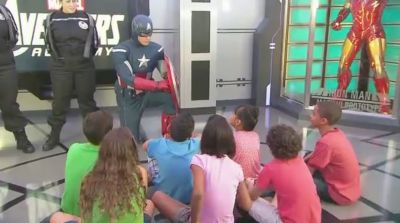 Disney Cruise Ship Lets Little Cruisers Become Marvel Superheroes at Sea
