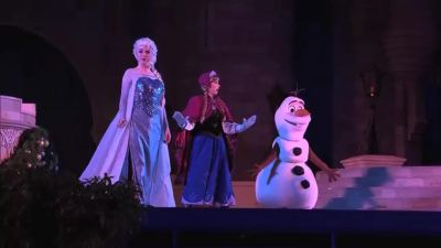 Fans Get 'Frozen' on Land and Sea
